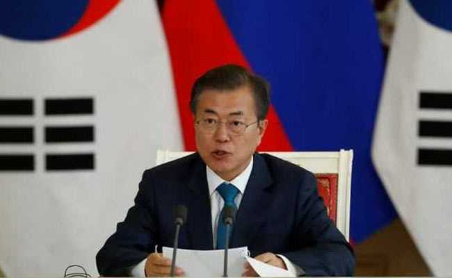 South Korean President Moon Jae-in visits India