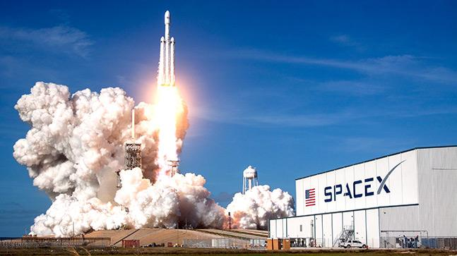 SpaceX launched world's heaviest communications satellite