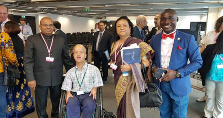 Thaawarchand Gehlot Attended Global Disability Summit 2018 in London, UK