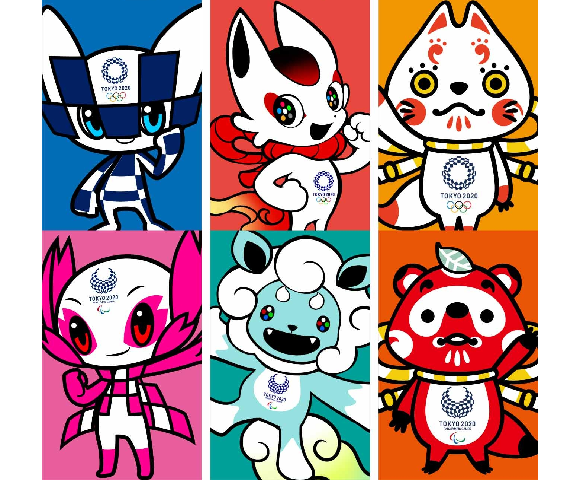 Tokyo 2020 committee officially unveils Olympic mascots