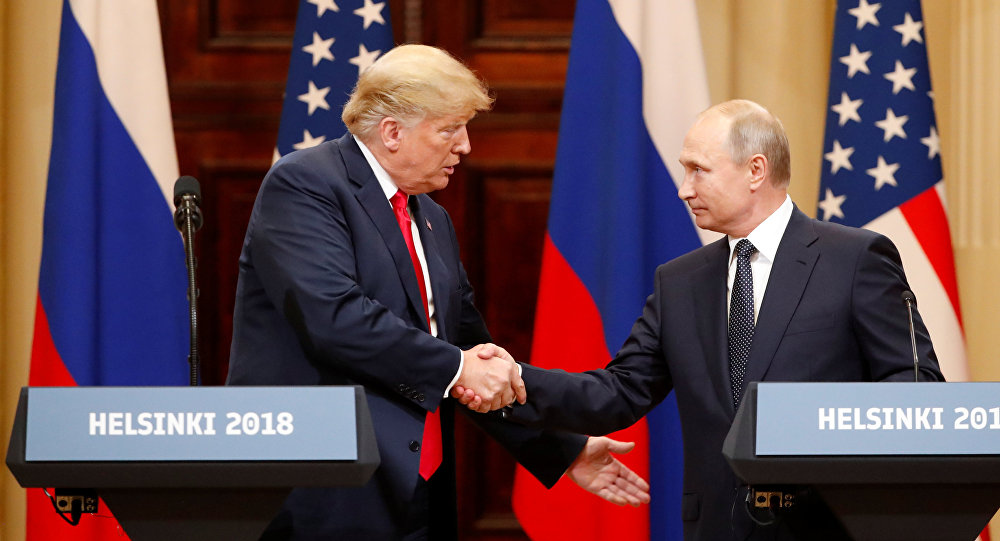 Trump, Putin hold first one-on-one talks