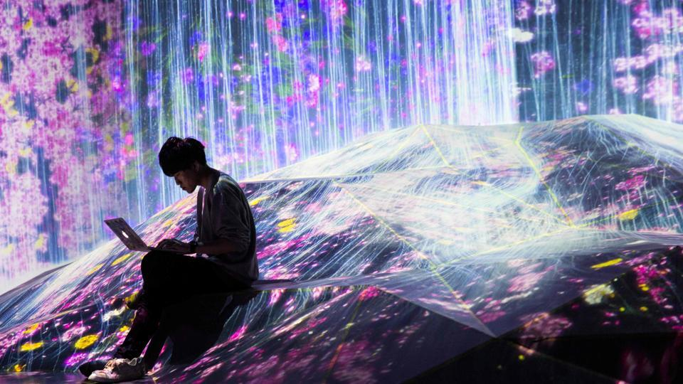 World's first digital art museum opened in Japan